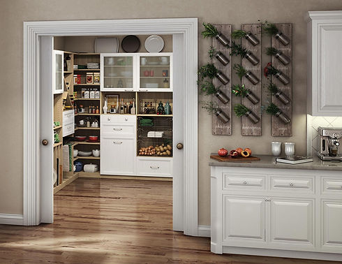 Kitchen Remodeling Pantries