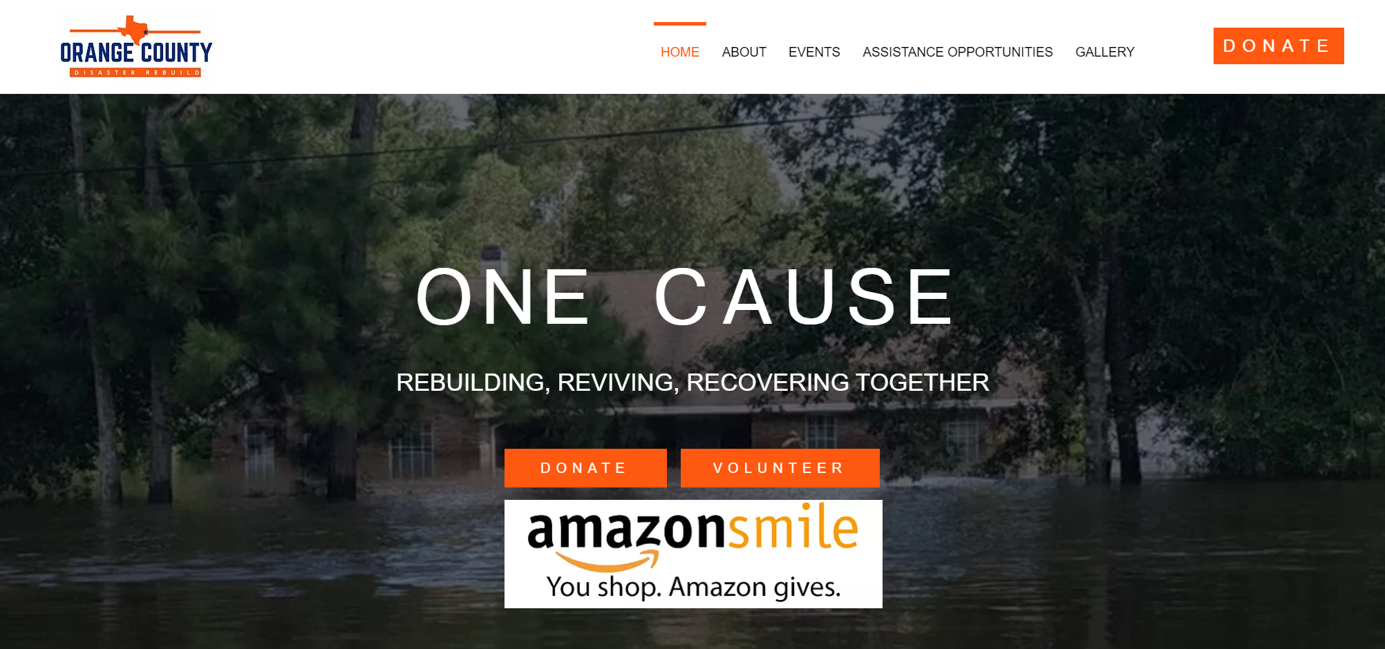 Orange County Disaster Rebuild