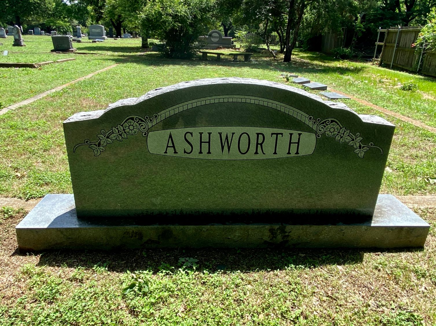 Ashworth Family Plot