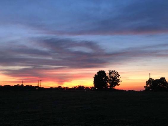 Sunset at Oak Lodge USA