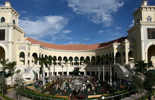 RECORD LIVE HANDLE FOR GULFSTREAM PARK IN 2015