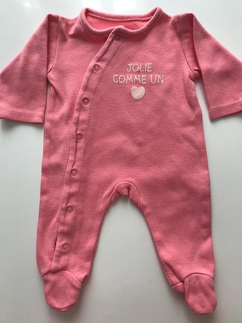 Pyjama coton 0 Mois
