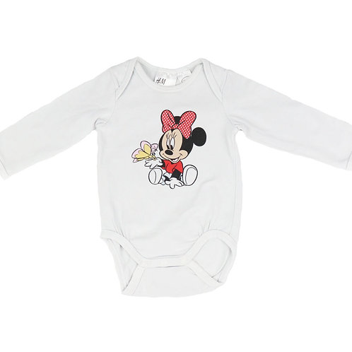 Body Minnie Mouse H&M 2/4 mois