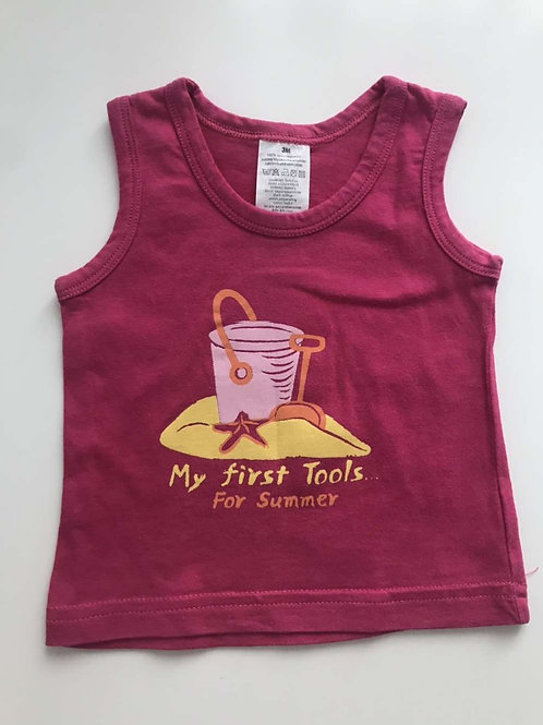 T-shirt débardeur 3 mois