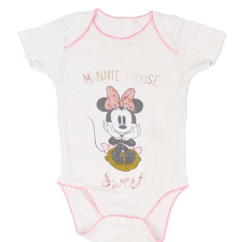 "Body ""Minnie Mouse"" 3 mois"