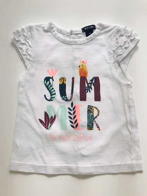 "T-shirt ""SUMMER"" 3 mois"