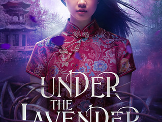 COVER REVEAL - Under a Lavender Moon