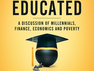 COVER REVEAL - Young, Broke, and Educated