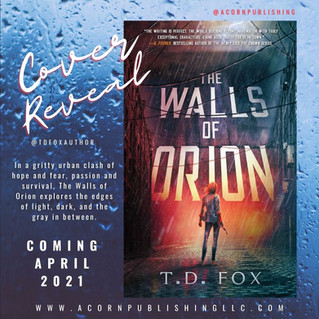 COVER REVEAL - The Walls of Orion