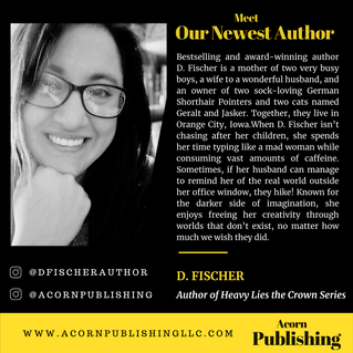 NEW AUTHOR - D. Fischer
