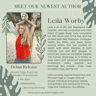 NEW AUTHOR - Leila Worby