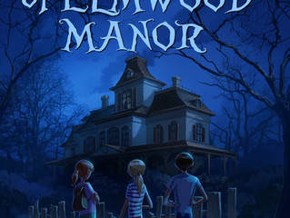 COVER REVEAL - The Haunting of Elmwood Manor