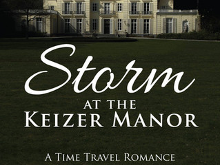 NEW RELEASE - Storm at the Keizer Manor