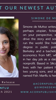 NEW AUTHOR - Simone de Muñoz