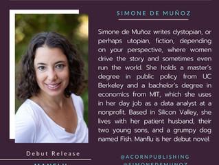 NEW AUTHOR - Simone de Muñoz