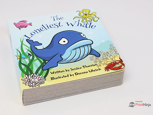 The Loneliest Whale Board Book