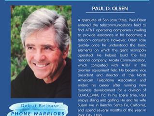 NEW AUTHOR - Paul D. Olsen