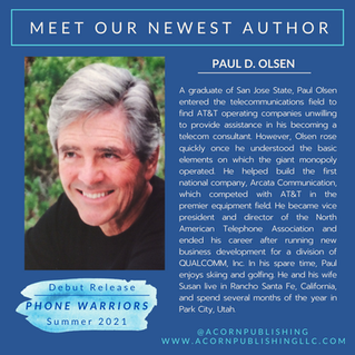 NEW AUTHOR - Paul D. Olsen