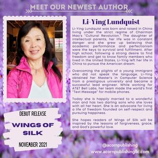 NEW AUTHOR - Li-Ying Lundquist