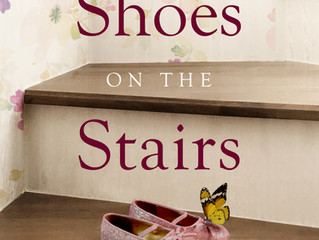COVER REVEAL - Shoes on the Stairs by Jan Steele