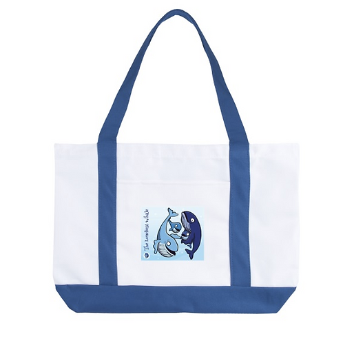 Loneliest Whale Tote Bag