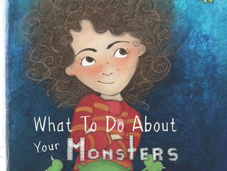 COVER REVEAL - What to Do About Your Monsters