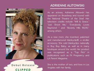 NEW AUTHOR - Adrienne Alitowski