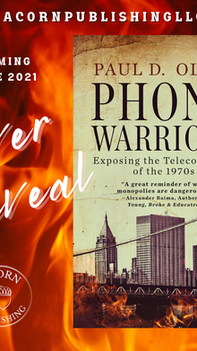 COVER REVEAL - Phone Warriors
