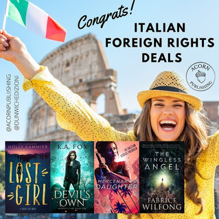 Italian Foreign Rights Deals for Acorn!