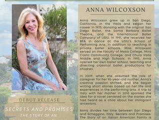 Meet Our New Author, Anna Wilcoxson!