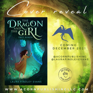 COVER REVEAL - The Dragon and the Girl: True North