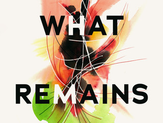 COVER REVEAL - What Remains - Poetry by Carol Ann Heasley