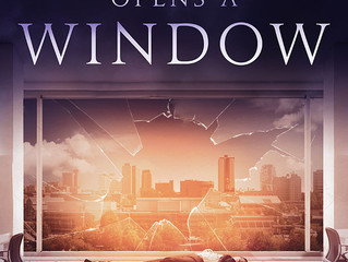 COVER REVEAL - DEATH OPENS A WINDOW by Mikel J. Wilson