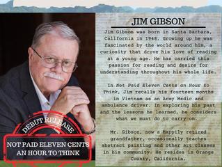 NEW AUTHOR - Jim Gibson
