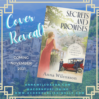COVER REVEAL—SECRETS and PROMISES: The Story of an Italian American Family
