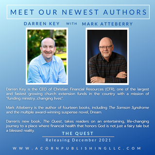 New Author Announcement - Darren Key with Mark Atteberry
