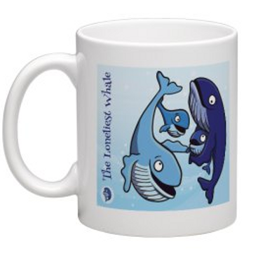Loneliest Whale Coffee Mug
