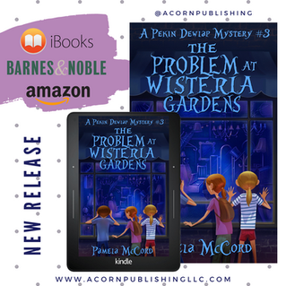 RELEASE DAY -  Pekin Dewlap The Problem at Wisteria Gardens