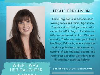 Meet Our Newest Author, Leslie Ferguson!