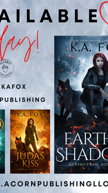 RELEASE DAY -  Earthly Shadows