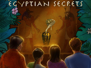 COVER REVEAL - Nutmeg Street: Egyptian Secrets