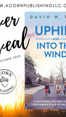 COVER REVEAL - Uphill and Into the Wind