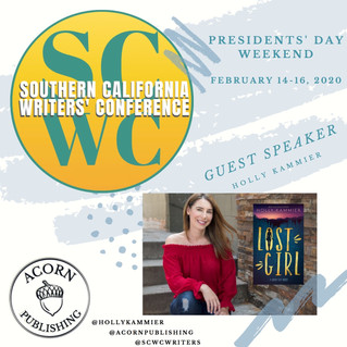 SoCal Writers' Conference with Holly Kammier!