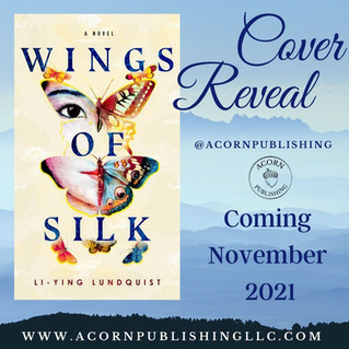 COVER REVEAL - Wings of Silk