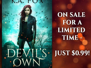 Get Your Copy of The Devil's Own Now!