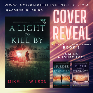 COVER REVEAL - A Light to Kill By