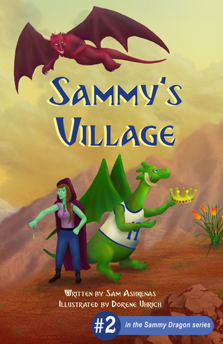 COVER REVEAL - Sammy's Village