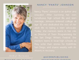 "NEW AUTHOR - Nancy ""Pants"" Johnson"