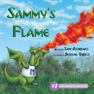COVER REVEAL - SAMMY'S FLAME by Sam Ashkenas