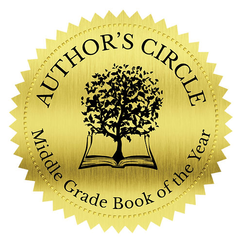 Middle Grade Book of the Year Seal Stickers (100 count)